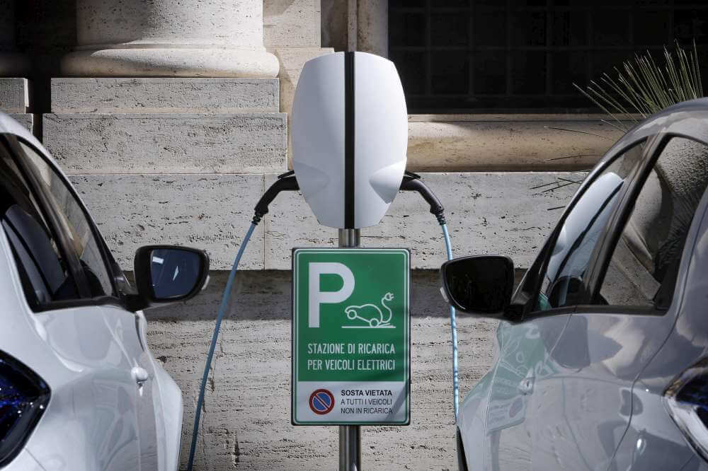 How do I charge an electric car?