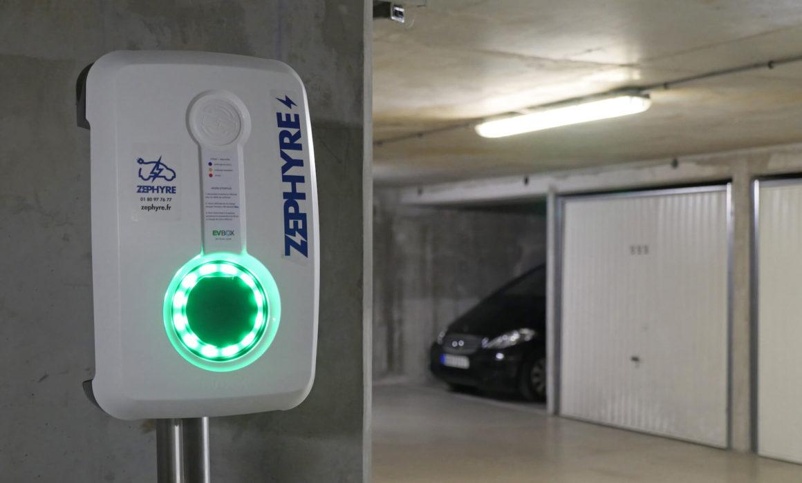 Borne de recharge électrique - wallbox zephyre